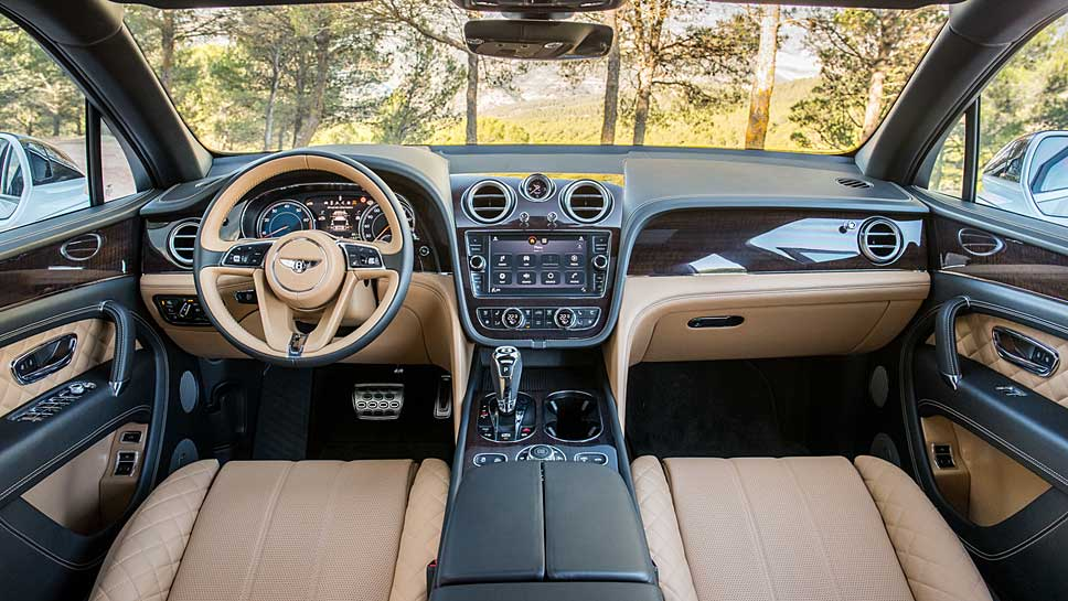 Bentley pflanzt dem Bentayga den ersten Diesel der Marke ein