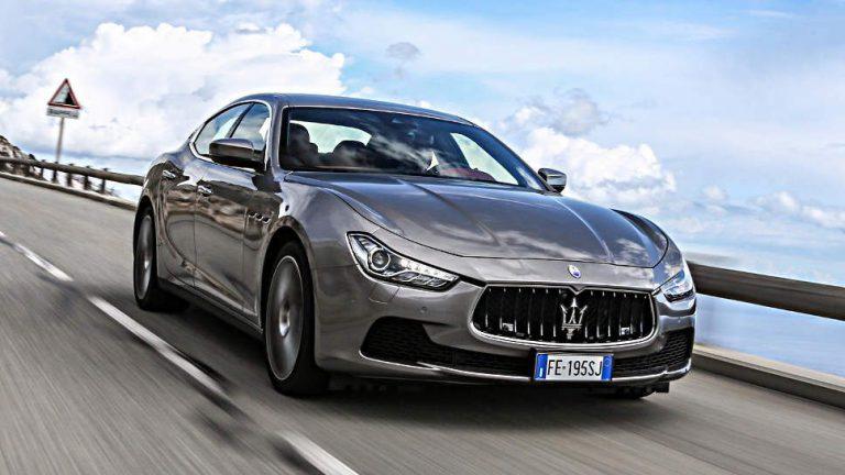 Maserati Ghibli: Glänzt auch beim «Tunnelwand-Test»