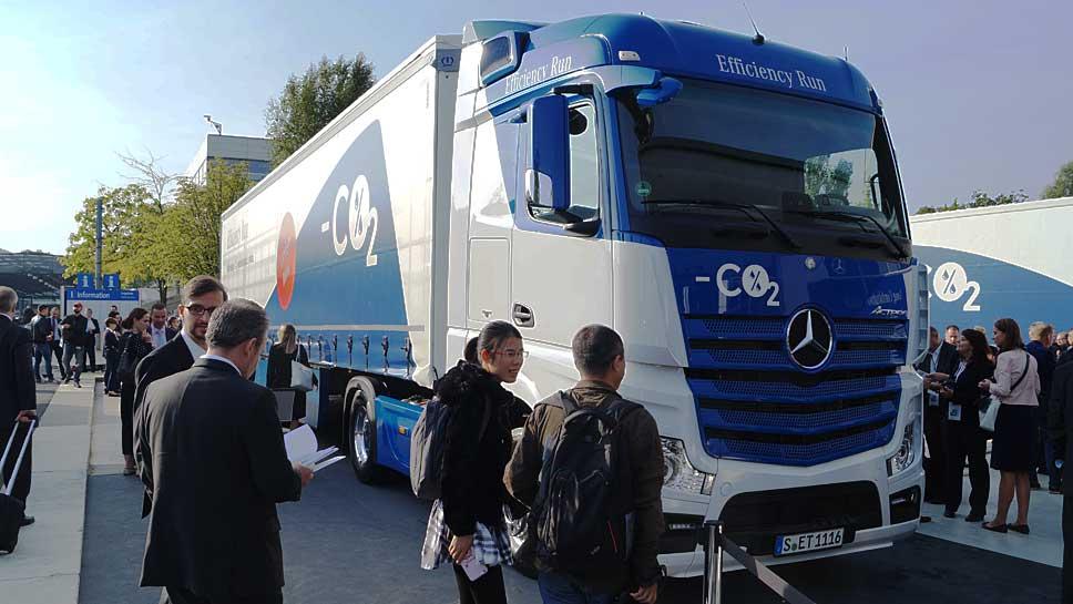 Daimler senkt mit Krone die CO2-Emissionen beim Diesel