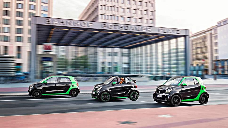 Smart bietet alle seine Modelle ab 2017 auch mit Elektroantrieb an.