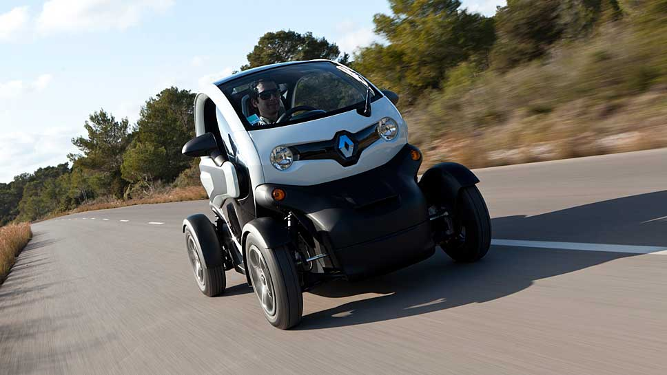 Mit dem Twizy stieg Renault in die Elektromobilität ein