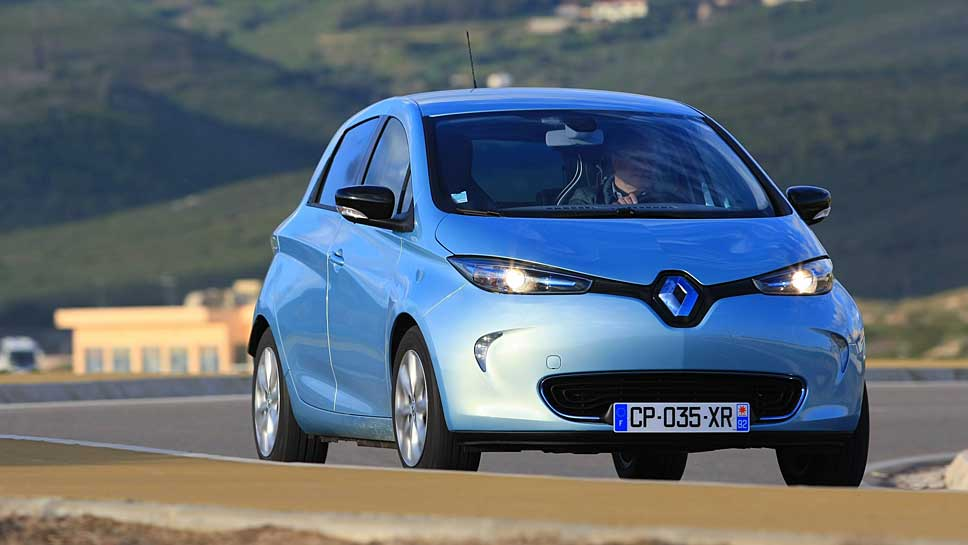 Der Renault Zoe ist die Nummer eins unter den Elektroautos