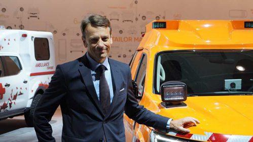 Uwe Hochgeschurtz, Vorstandsvorsitzender von Renault Deutschland