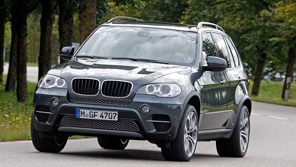 Ein BMW X5 der zweiten Generation