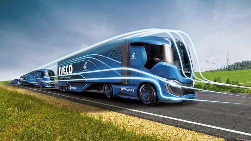 Emissionsfrei in die Zukunft mit der Iveco Truck-Vision Z