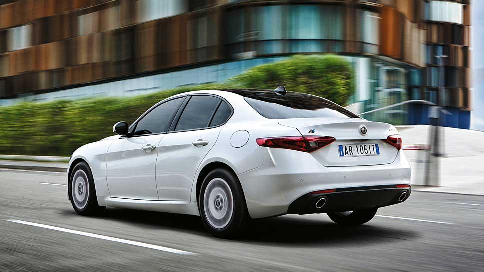 Sparsam und schnell zugleich ist die Giulia Advanced Efficiency von Alfa Romeo
