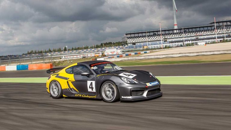Porsche Cayman GT4 Clubsport: Rennen fahren leicht gemacht