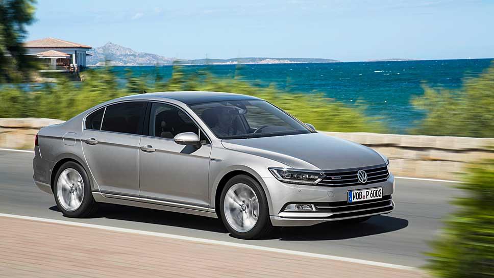 Auf den VW Passat gibt es hohe Rabatte.