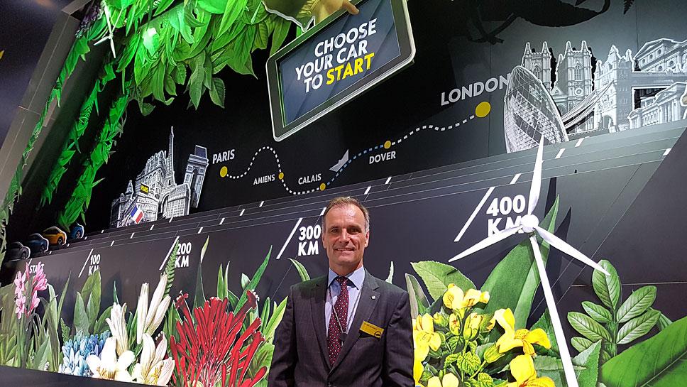 Ralf Hannapel, Projektverantwortlicher für den Opel Ampera-e