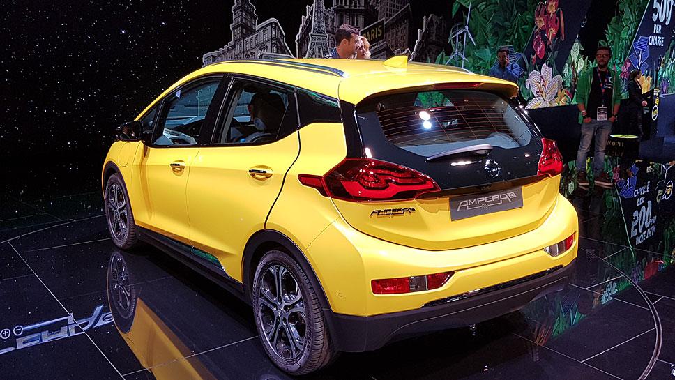 Der Opel Ampera-e schafft 500 Kilometer rein elektrisch