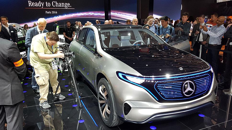 Daimlers Elektroautos werden an in Bremen produziert