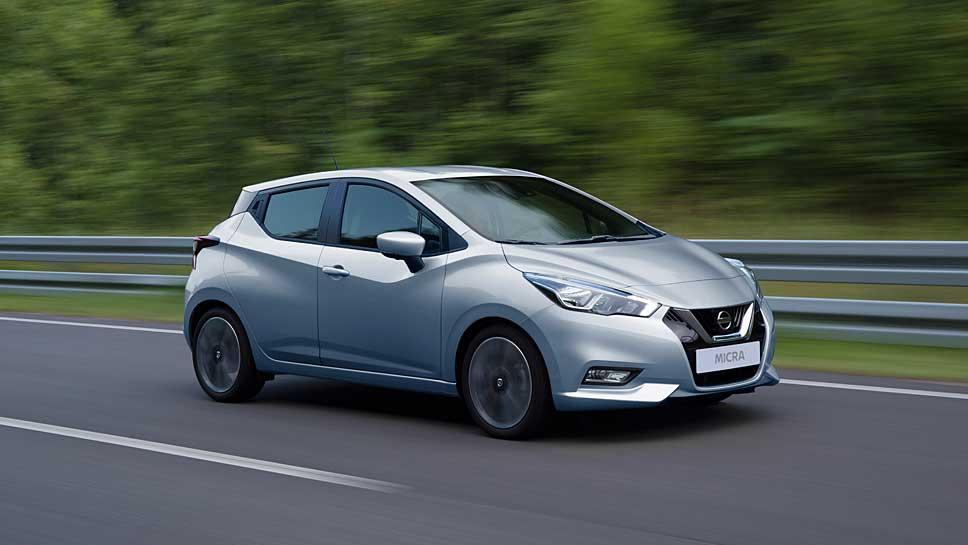Nissan hat die fünfte Generation des Micra komplett neu gestaltet
