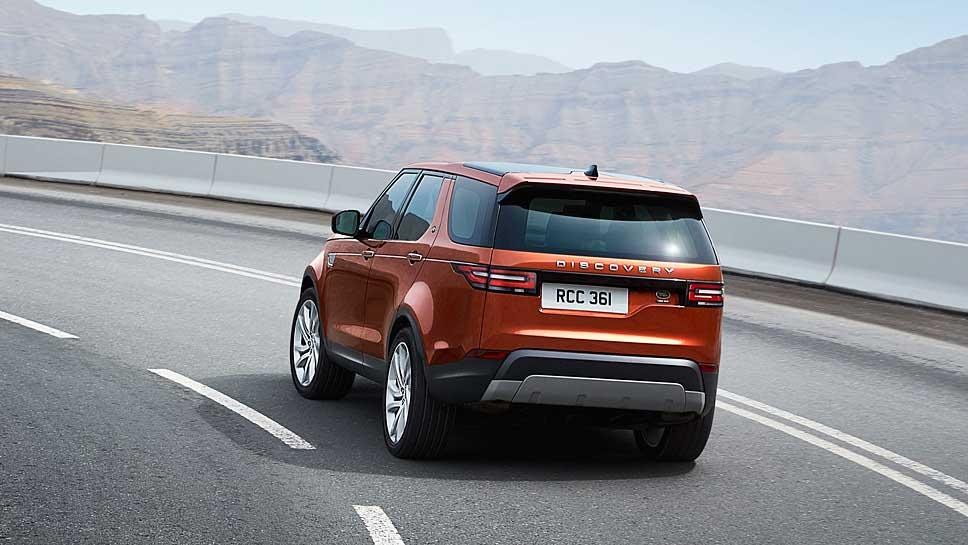 Land Rover schickt eine neue Generation des Discovery ins Rennen