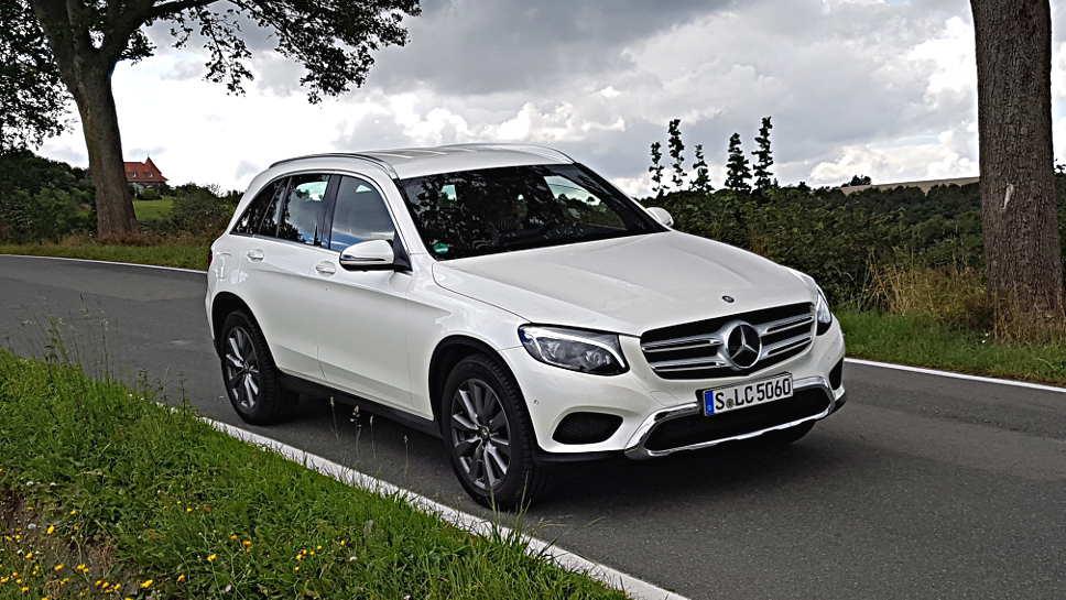 Auch der Mercedes GLC ist vom Rückruf betroffen.
