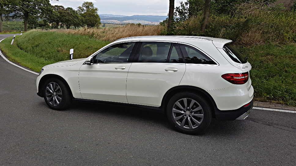 Der Mercedes GLC ist bei den Kunden beliebt.