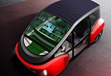 Rinspeed zeigt auf der CES sein Zukunftsmobil Oasis.