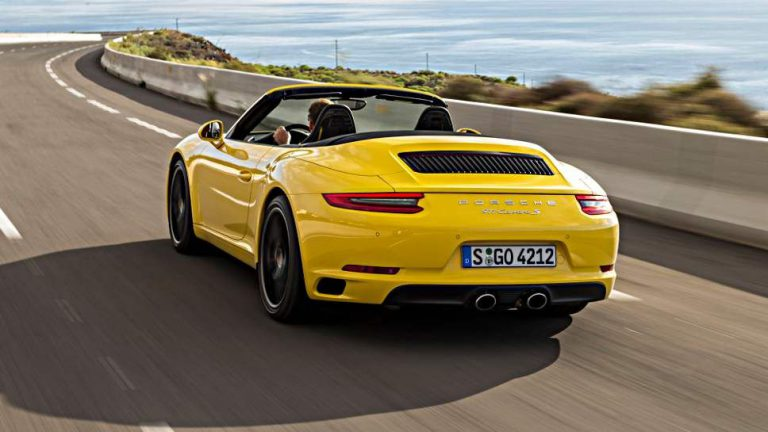 Porsche 911 Cabrio bremst am besten