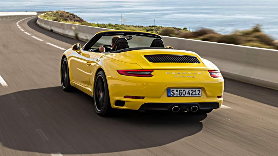 Der Porsche 911 bremst am besten im Test des ADAC.