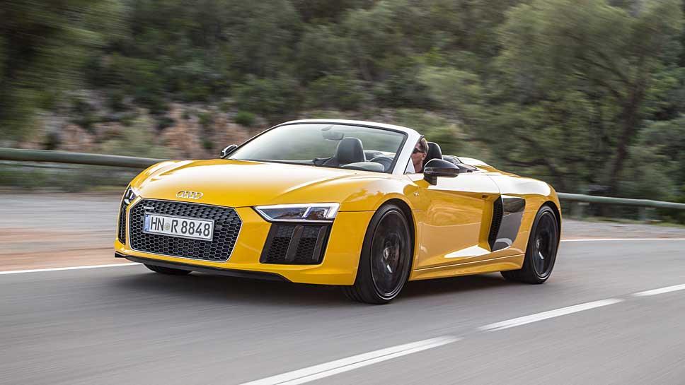 Der Audi R8 Spyder V10 kommt im November