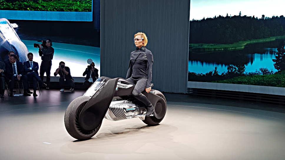 So stellt sich BMW die Zukunft des Motorrades vor.