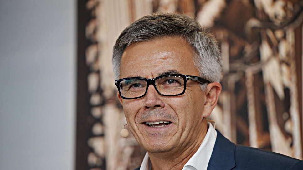 BMW-Vorstand Peter Schwarzenbauer.