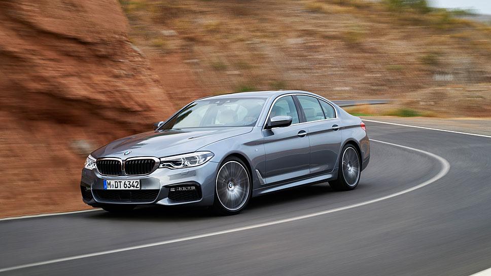 Der neue BMW Fünfer verzeichnete einen glänzenden Start