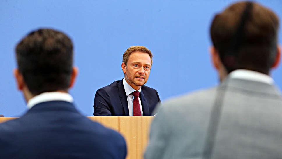 FDP-Chef Christian Lindner ist gegen ein Verbot von Verbrennungsmotoren.