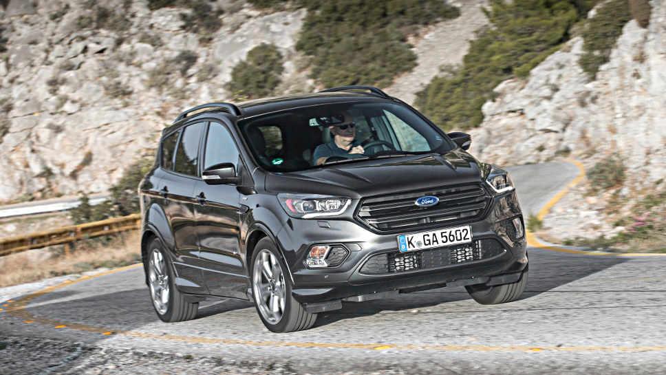 Der Ford Kuga nach dem Facelift