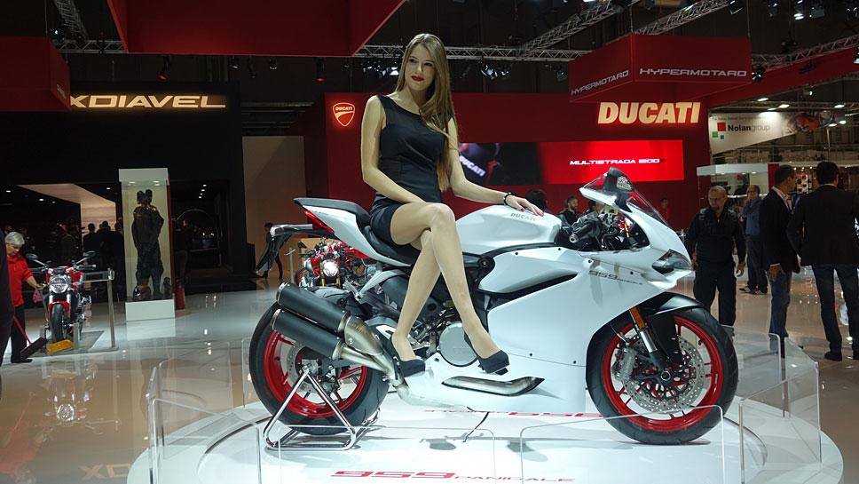 Die Ducati Panigale 959