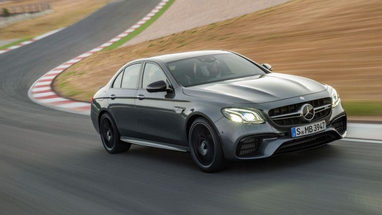 Mercedes-AMG E63: Driften mit der E-Klasse