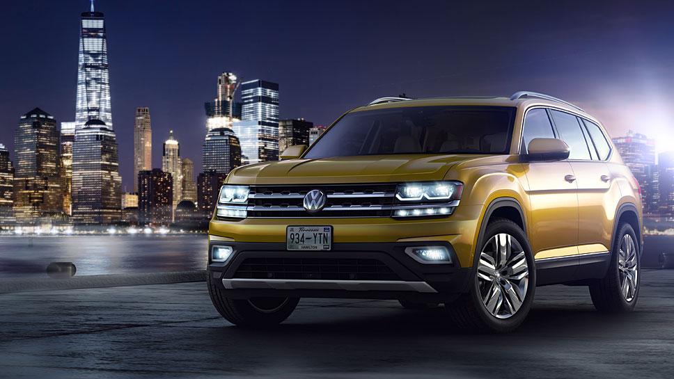 Auf den VW Atlas wird viel Verantwortung übertragen