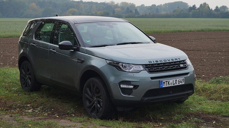 Der Land Rover Discovery Sport ist das noble Einstiegsmodell der Marke