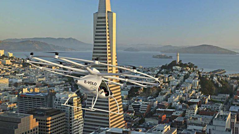 Von der Straße in die Luft: Freie Fahrt im City-Airbus