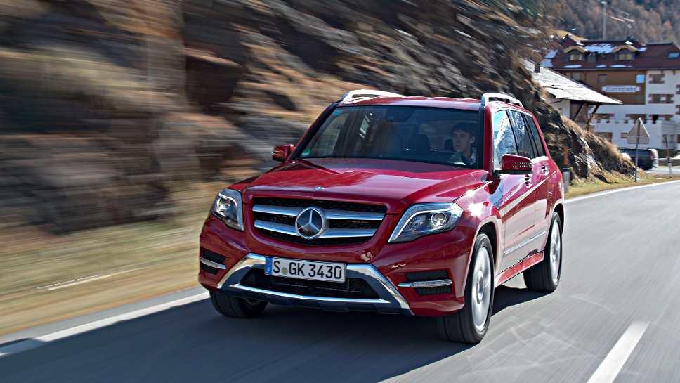 Der Mercedes GLK