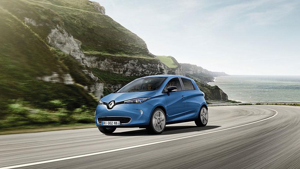 Der Renault Zoe schafft nun 400 Kilometer mit einer Ladung