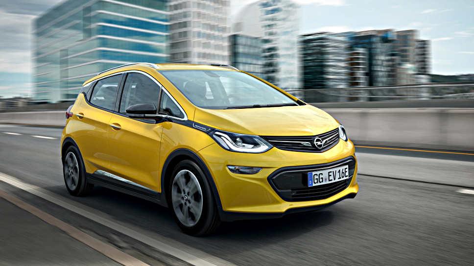 Opel setzt den Ampera-e zum Carsharing ein
