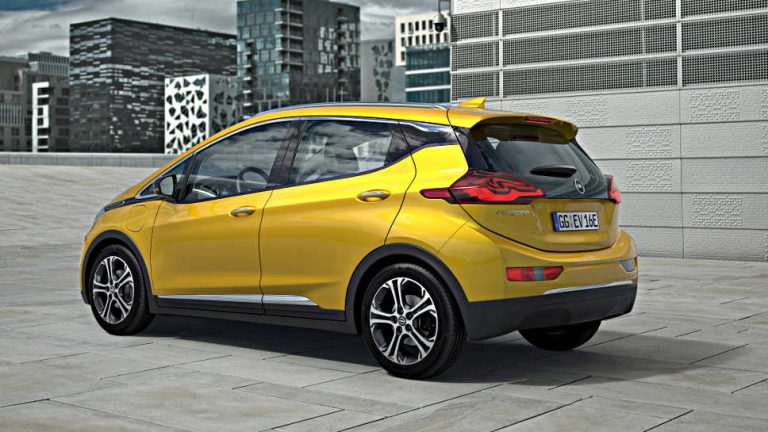 Opel startet Verkauf des Ampera-e in Norwegen
