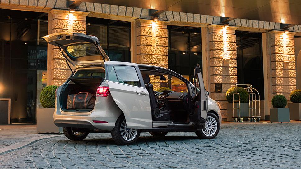 Der Ford B-Max überzeugt besonders durch seinen praktischen Nutzen