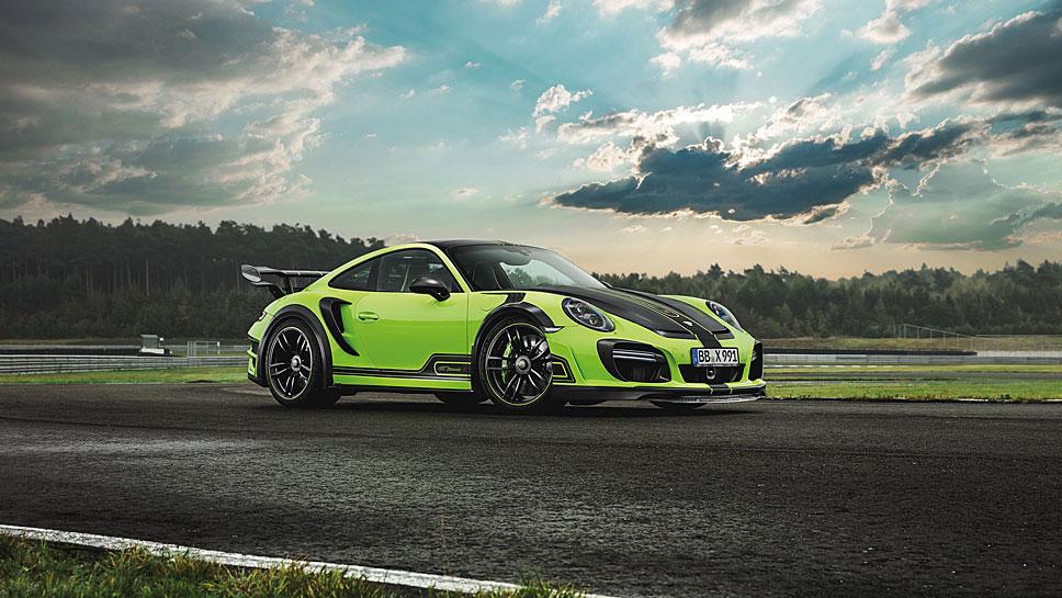 Techart verleiht dem Porsche 911 gleich 60 PS zusätzlich