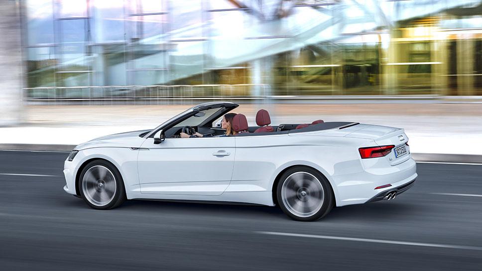 Das Cabrio des Audi A5 ist technisch völlig neu aufgestellt