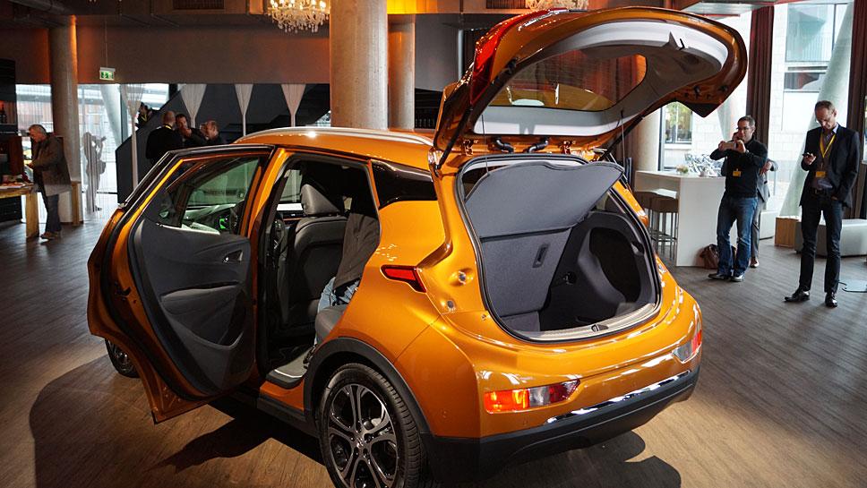 Der Opel Ampera-e kommt im Frühjahr 2017