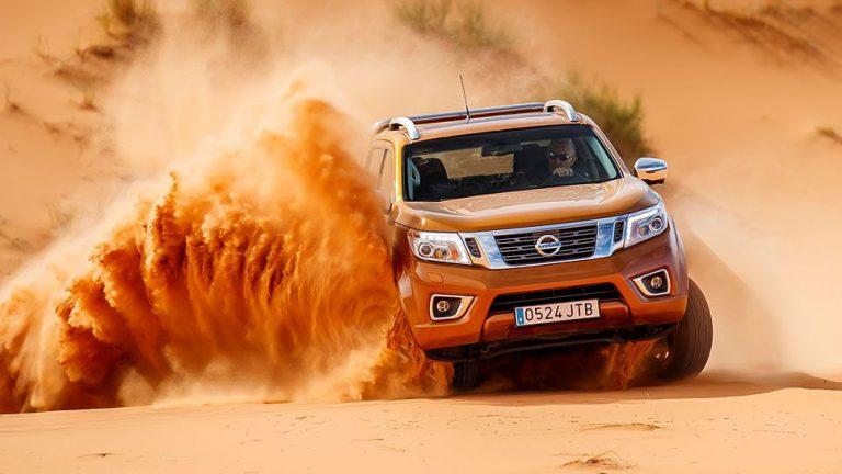 Nissan Navara: Die Wüste lebt