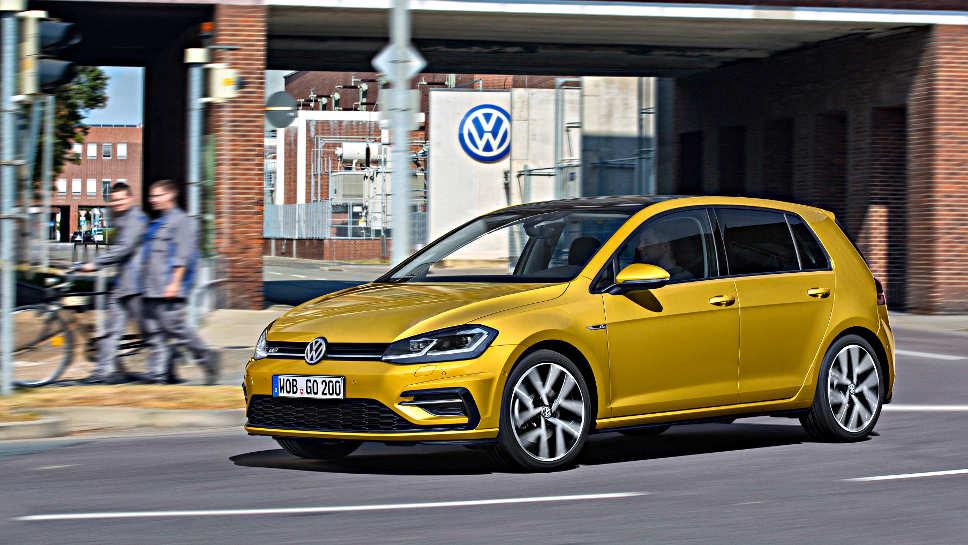 Der überarbeitete VW Golf