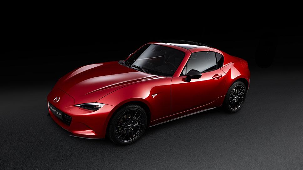 Das Sondermodell Mazda MX-5 RF Ignition ist auf 250 Stück limitiert