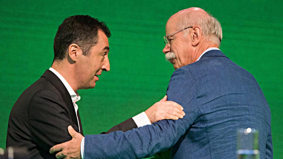 Cem Özdemir und Dieter Zetsche