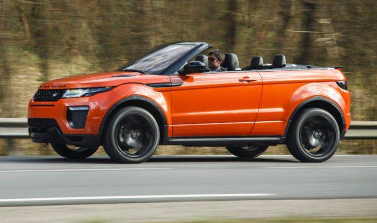 Range Rover Evoque Cabrio: Provozierend anders