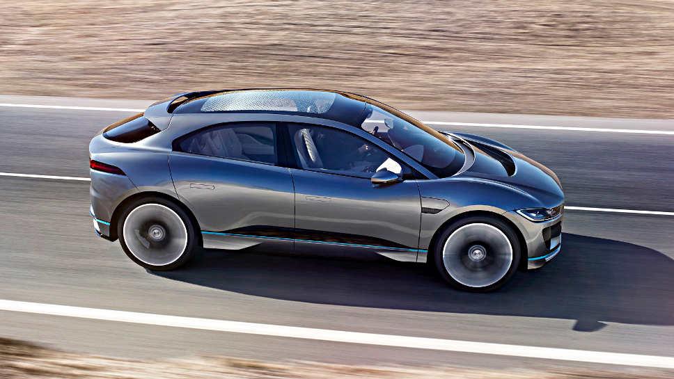 Das I-Pace-Concept von Jaguar.