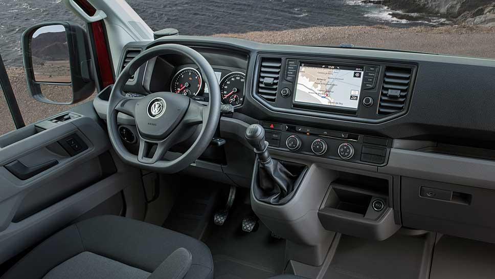 VW hat den Crafter in Eigenregie neu konzipiert