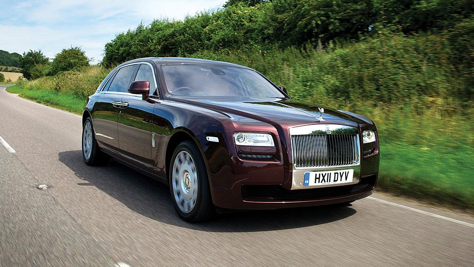 Der Rolls-Royce Ghost mit langem Radstand ist besonders in China beliebt