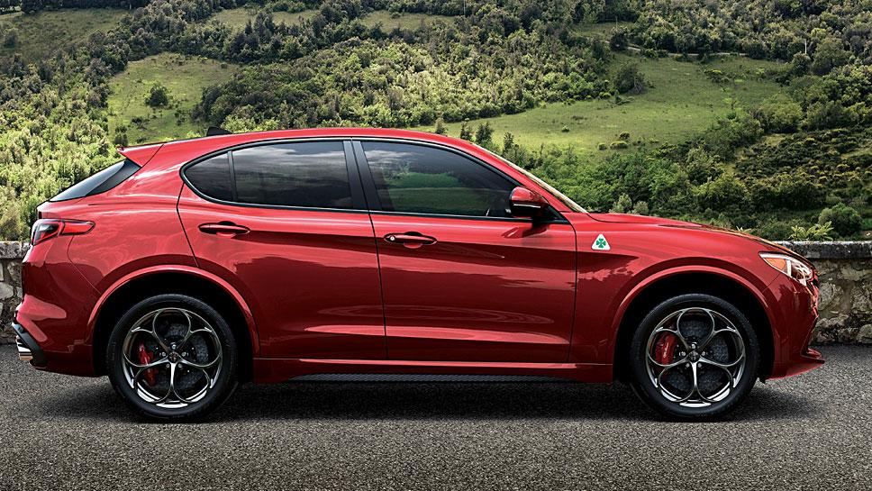 Rund 40.000 Euro wird der Alfa Romeo Stelvio kosten